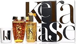 Kup Zestaw - Kerastase Elixir Ultime Luxury Gift Set (shmp/250ml + h/oil/100ml + candle/100g)