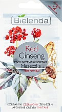 Kup Przeciwzmarszczkowa maseczka regenerująca do twarzy Czerwony żeń-szeń - Bielenda Red Ginseng Regenerating