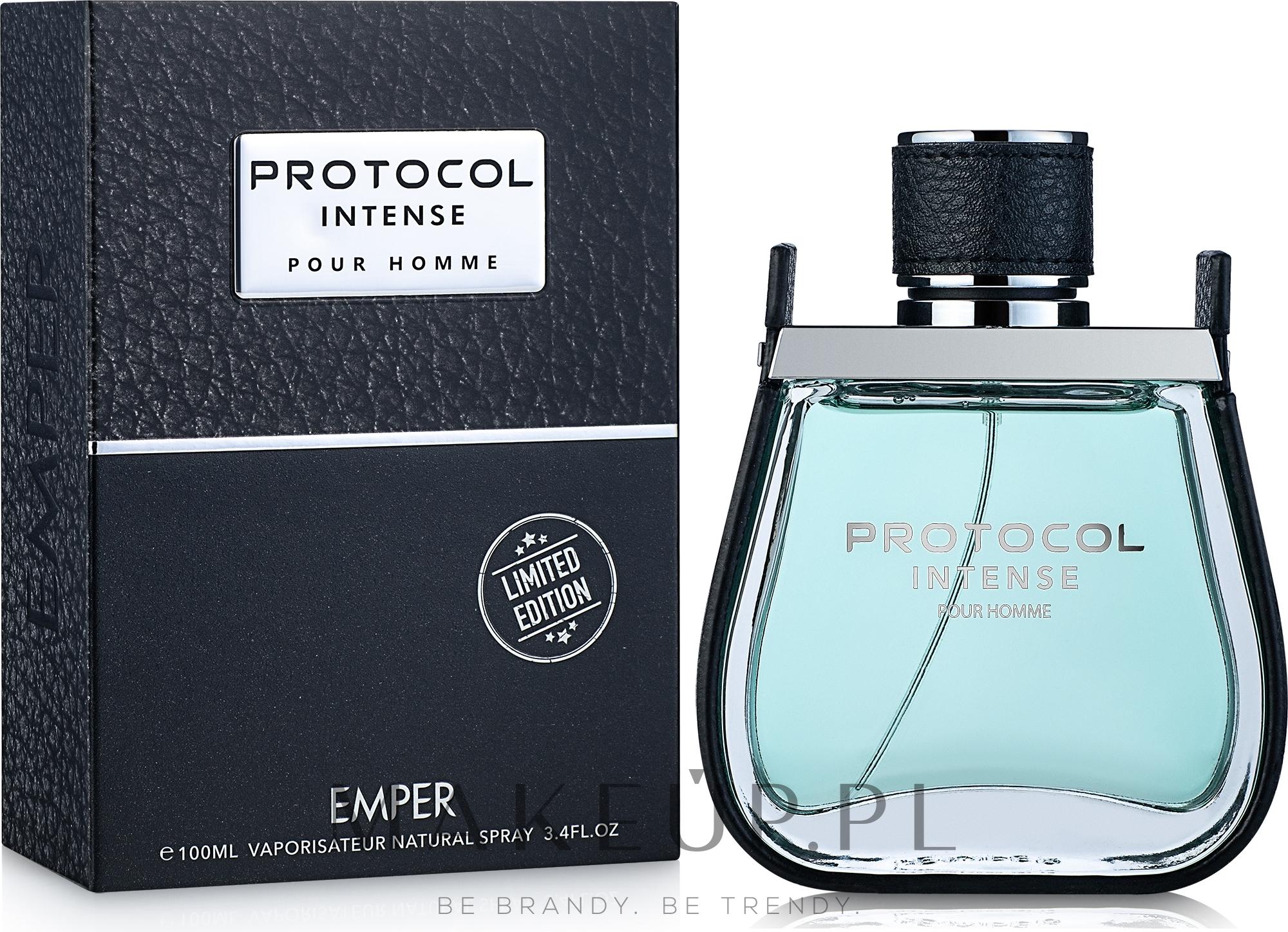 Emper Protocol Intense - Woda toaletowa — фото 100 ml