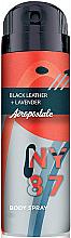 Kup Spray do ciała dla mężczyzn - Aeropostale Black Leather + Lavender Fragrance Body Spray