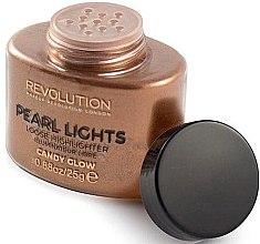 Kup Sypki do twarzy rozświetlacz - Makeup Revolution Pearl Lights Loose Highlighter