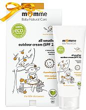 Kup Spacerowy krem dla dzieci na każdą pogodę SPF 25 - Momme Baby Natural Care All Weather Outdoor Cream