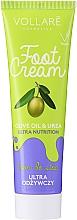 Kup Odżywczy krem do stóp - Vollare Cosmetics De Luxe Ultra Nutrition Oile&Urea Foot Cream