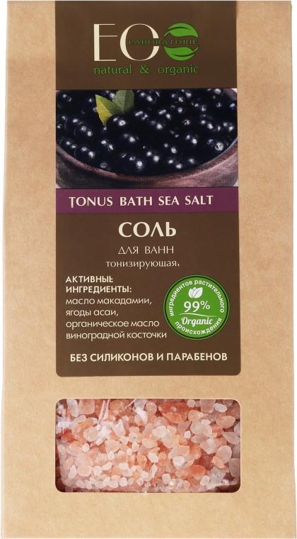 Tonizująca sól do kąpieli - ECO Laboratorie Bath Sea Salt — фото N1