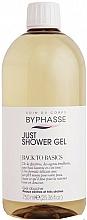 Kup Żel pod prysznic do skóry suchej i bardzo suchej - Byphasse Back To Basics Just Shower Gel Dry And Very Dry Skin