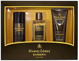 Kup PRZECENA! Alvarez Gomez Agua De Colonia Concentrada Barberia - Zestaw (edc 150 ml + deo 150 ml + sh/gel 230 ml)*