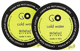 Kup Wkład zapachowy do samochodu Cold Water, 2 szt. - Millefiori Milano Go Cold Water Capsules