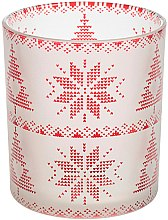 Kup Świecznik - Yankee Candle Red Nordic Frosted