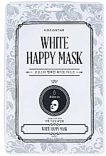 Kup Maseczka do twarzy w płachcie - Kocostar White Happy Mask