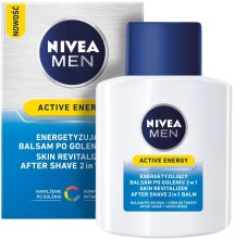 Kup Energetyzujący balsam po goleniu 2w1 - Nivea For Men Active Energy Skin Revitalizer After Shave Balm