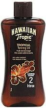 Kup Intensywny olejek do ciała przedłużający opaleniznę SPF 2 - Hawaiian Tropic Sun Tan Oil Intense
