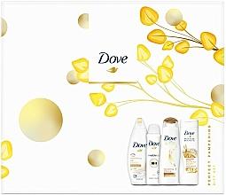 Kup Zestaw - Dove Perfect Pampering (sh/gel/250ml + b/lot/250ml + shmp/250/ml + deo/150ml)