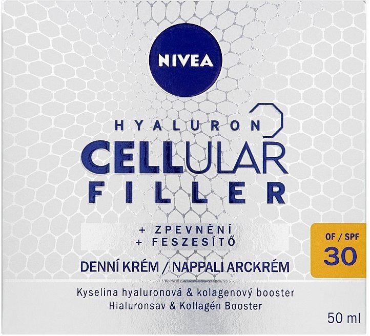 Przeciwzmarszczkowy krem na dzień SPF 30 - Nivea Hyaluron Cellular Filler Cream — фото N4