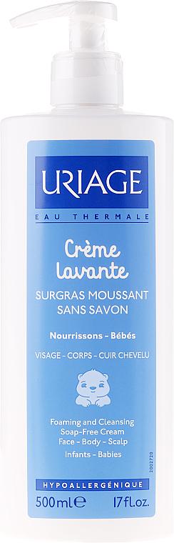 PRZECENA! Pieniący się krem do mycia ciała dla dzieci i niemowląt - Uriage Babies Crème Lavante * — фото N1