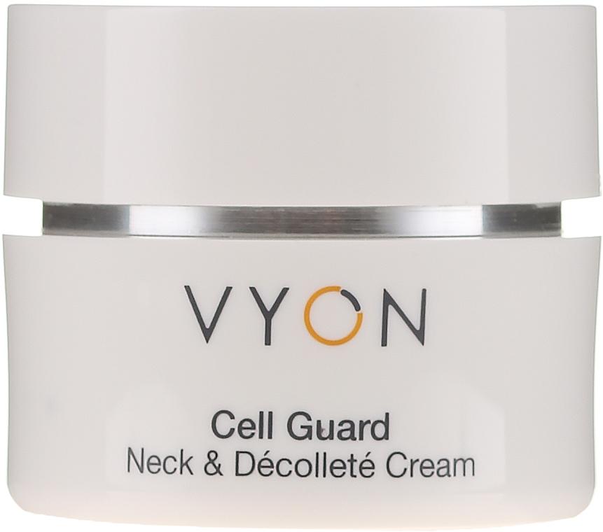 Odmładzający krem do szyi i dekoltu - Vyon Cell Guard Neck and Dekollete Cream — фото N1