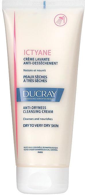 Krem oczyszczający do twarzy i ciała - Ducray Ictyane Anti-Dryness Cleansing Cream Face & Body — фото N1