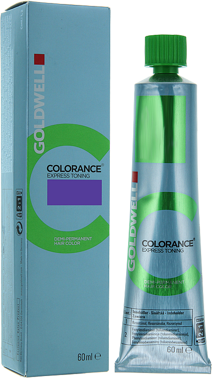 PRZECENA! Ekspresowy krem do półtrwałej koloryzacji bez amoniaku - Goldwell Colorance Express Toning Hair Color * — фото N1