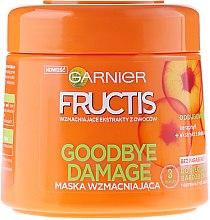 Kup Maska wzmacniająca do włosów bardzo zniszczonych - Garnier Fructis Goodbye Damage Mask