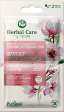 Kup Drobnoziarnisty peeling do twarzy i ust Kwiat migdałowca - Farmona Herbal Care Almond Flower Face & Lips Exfoliator