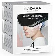 Kup PRZECENA! Zestaw masek do twarzy - Mádara Cosmetics Multimasking Treatment Set (f/mask 4 x 12,5 ml + f/ampoule 2 x 3 ml) *