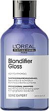 Kup PRZECENA! Regenerujący szampon chroniący blask włosów - L'Oreal Professionnel Serie Expert Blondifier Gloss Shampoo *