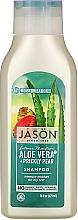 Kup Intensywnie nawilżający szampon do włosów Aloes - Jason Natural Cosmetics Moisturizing 84% Aloe Vera Shampoo