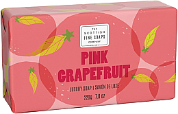 Kup Mydło w kostce - Scottish Fine Soaps Pink Grapefruit Luxury Wrapped Soap