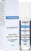 Kup Hialuronowy krem przeciwzmarszczkowy do skóry wokół oczu i ust - BingoSpa Hyaluronic Anti Wrinkle Eye & Lip Cream