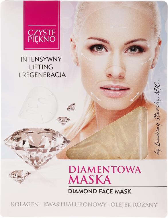 Diamentowa maska w płacie Intensywny lifting i regeneracja - Czyste Piękno