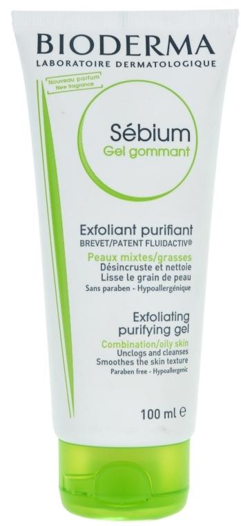 Myjący żel złuszczający do skóry mieszanej i tłustej - Bioderma Sébium Gel Gommant