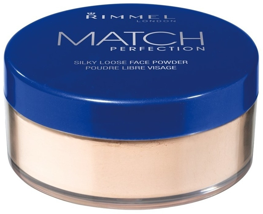 Sypki puder do twarzy - Rimmel Match Perfection Silky Loose Powder