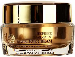 Kup Rewitalizujący krem pod oczy ze śluzem ślimaka - Deoproce Snail Galac-Tox Revital Eye Cream