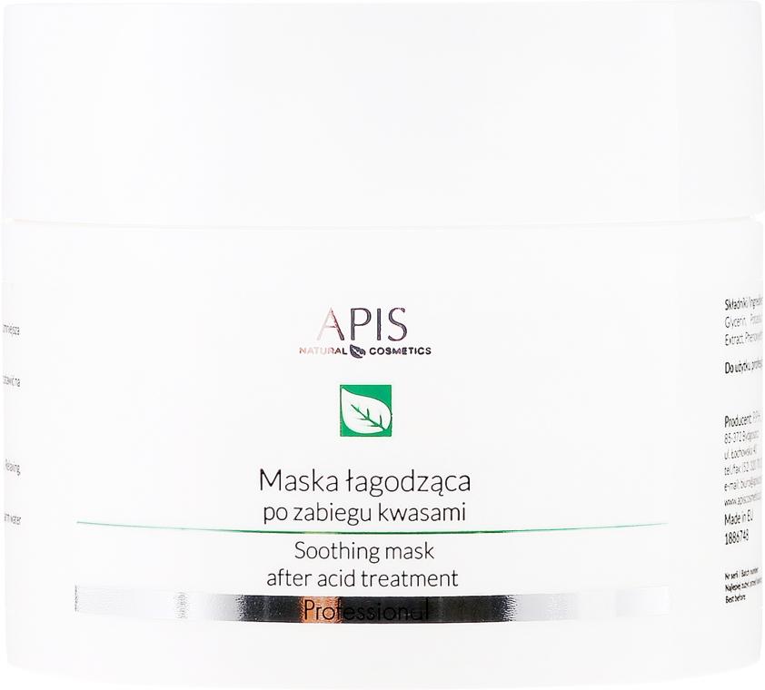 Maska łagodząca do twarzy po zabiegu kwasami - APIS Professional Eksfoliacja