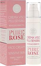 Kup Łagodzący krem do skóry delikatnej i wrażliwej - Erbario Toscano Biocomplex Pure Rose Sensitive Skin Face Cream