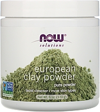 Kup Glinka do twarzy - Now Foods Solutions European Clay