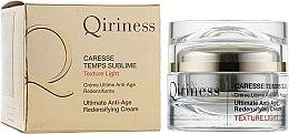 Kup Przeciwstarzeniowy krem regenerujący do twarzy - Qiriness Caresse Temps Sublime Light
