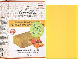 Kup Mydło w kostce z ekstraktem z kurkumy - Sabai Thai Herbal Turmeric Soap