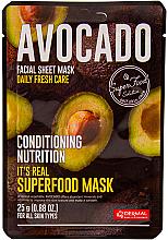 Kup Odżywcza maseczka do twarzy z awokado - Dermal It's Real Superfood Avocado Facial Mask