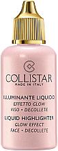 Rozświetlacz - Collistar Liquid Highlighter Glow Effect Face Decollete — фото N3