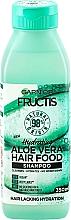 Kup Nawilżający szampon do włosów, Aloes - Garnier Fructis Aloe Vera Hair Food Shampoo
