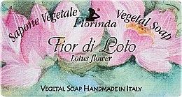 Kup Naturalne mydło w kostce Kwiat lotosu - Florinda Sapone Vegetale Lotus Flower Vegetal Soap Handmade