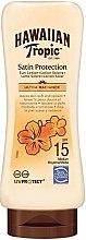Kup Balsam do opalania ciała z filtrem SPF 15 - Hawaiian Tropic Satin Protection Sun Lotion