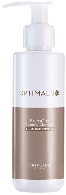 Oczyszczający żel do twarzy - Oriflame Optimals Even Out Foaming Cleanser — фото N1