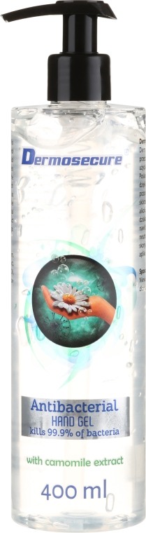 Antybakteryjny żel do rąk z ekstraktem z rumianku - Dermosecure Antibacterial Hand Gel