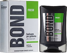 Perfumowany balsam po goleniu - Bond Fresh After Shave Balm — фото N1