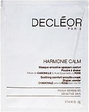 Kup Kojąca maska do twarzy - Decléor Harmonie Calm Soothing Comfort Smoothie Mask Shaker Powder