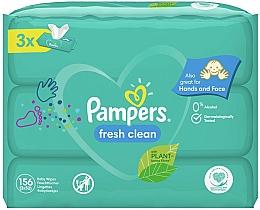 Kup Chusteczki nawilżane dla niemowląt, 3 x 52 szt. - Pampers Baby Fresh Clean