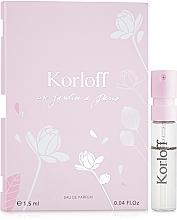 Kup Korloff Paris Un Jardin A Paris - Woda perfumowana (próbka)