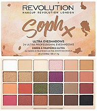 Kup Paleta cieni do powiek - Makeup Revolution Soph X Eyeshadow Palette