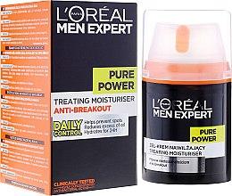 Kup Nawilżający żel-krem dla mężczyzn przeciw niedoskonałościom skóry - L'Oreal Paris Men Expert Pure Power